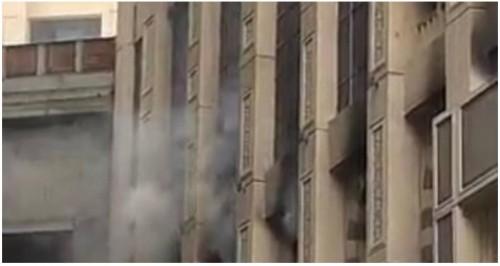 """""""الدفاع المدني"""" تنجح في إخماد حريق داخل إحدى فنادق مكة المكرمة"""