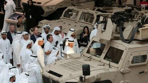ضاحي خلفان: آيدكس معرض عسكري ضخم