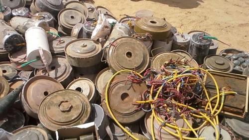 بعد مقتل 920 مدنيًا من اليمنيين على يد المليشيا.. برنامج حوثي للتعريف بمخاطر الألغام