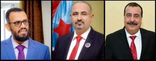 الزُبيدي ونائبه ورئيس الجمعية الوطنية يعزون وسام القادري في وفاة والده