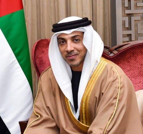 منصور بن زايد: معرض أيدكس يجسد رؤية القيادة الإماراتية الرشيدة