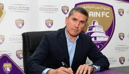 العين الإماراتي يعلن تعيين الإسباني جاريدو مدرباً للفريق