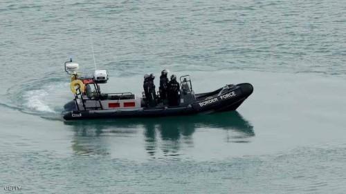 بريطانيا تعتقل 34 مهاجرًا غير شرعيًا في بحر المانش