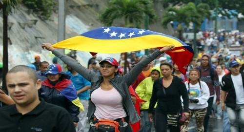 ترامب يعلن عن قرب إنتهاء الاشتراكية في فنزويلا وغيرها من البلدان