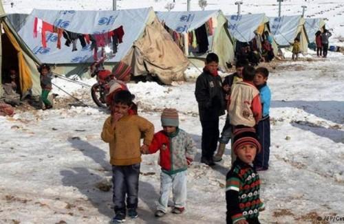 أمريكا تشيد بقافلة الإغاثة التي وصلت مخيم الركبان في سوريا