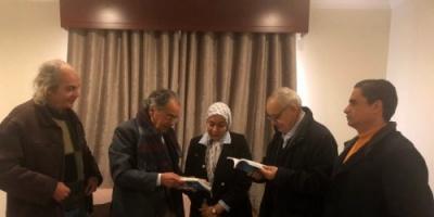 غسان سلامة يستقبل عددا من الأدباء والفنانين في بنغازي