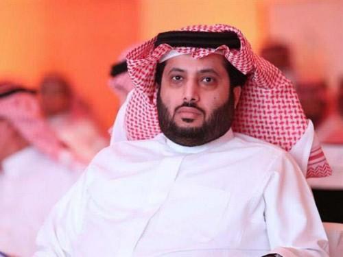 رد قاسي من تركي آل الشيخ على مذيع الجزيرة