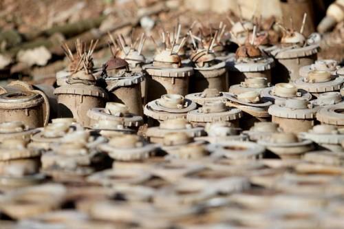 ألغام شبوة.. أرضٌ لوّثها الإرهاب الحوثي