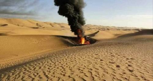 حريقٌ في حقل نفط بشبوة: قوات التأمين تورّطت في عملية تهريب