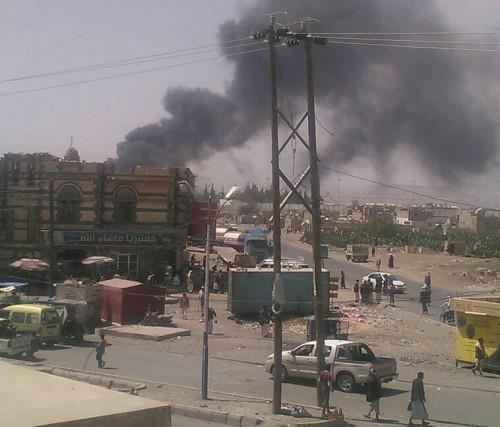 بقصف قاعدة الديلمي.. التحالف يلقن الحوثي درسا عسكريا في عقر داره