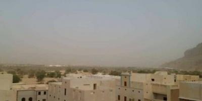 """""""الأرصاد"""" يحذر من آثار موجة الغبار بعدد من المحافظات"""