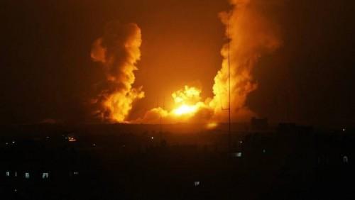 عاجل...طائرات إسرائيلية تقصف مواقع لحماس في غزة