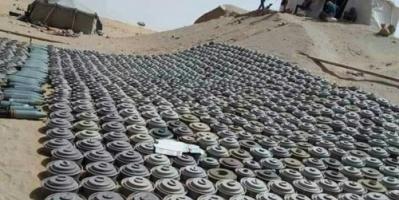 تفجير 10 آلاف لغم وعبوة ناسفة زرعها الحوثيون بالحديدة