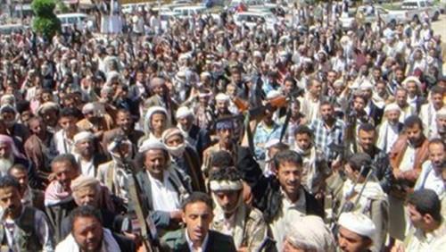 أسوة بحجور.. قبائل إب تعلن النفير العام ضد الحوثي