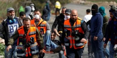 الاحتلال الإسرائيلي يعتدي على المشاركين بإحياء ذكرى مجزرة الحرم الإبراهيمي (صور)