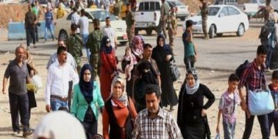 العراق يعيد 199 لاجئاً من الأراضي التركية