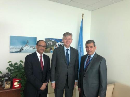 السفير السعدي يلتقي وكيل الأمين العام للأمم المتحدة لعمليات حفظ السلام