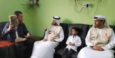 ممثلا الهلال الإماراتي يطلعان على آلية عمل مركز الأطراف الصناعية بعدن (صور)