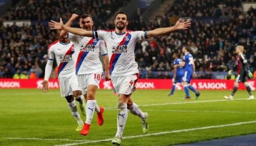 كريستال بالاس يفوز على ليستر سيتي 4-1 في الدوري الإنجليزي