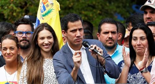 """""""غوايدو"""" في كولومبيا الإثنين لحضور اجتماع """"ليما"""""""