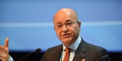 برهم صالح يدعو إلى تعاون مصري لإعمار العراق