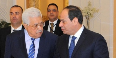 """"""" السيسي """" يلتقي عباس بشرم الشيخ ويؤكد على الموقف المصري من القضية الفلسطينية"""