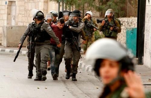الاحتلال الإسرائيلي يعتقل 14 فلسطينيًا بالضفة والقدس
