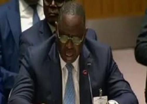 """ماكي عقب تصويته في الانتخابات الرئاسية السنغالية: """"أملي أن يكون الشعب الرابح الوحيد"""""""