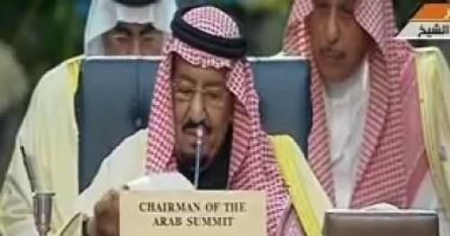 عاجل..العاهل السعودي: لابد من الحل السياسي للأزمة اليمنية ويطالب بموقف دولي موحد ضد إيران