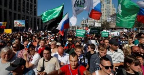 آلاف الروس يشاركون في مسيرة سنوية لإحياء لذكرى زعيم معارضة