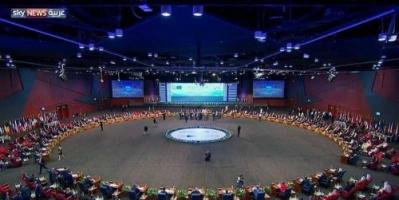 """""""الإرهاب"""" و""""التدخلات الإيرانية"""" يسيطران على الجلسة الافتتاحية للقمة العربية الأوروبية"""