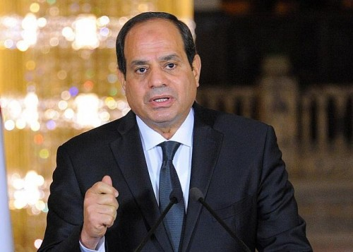 """"""" السيسي """": هناك عدة دول تدعم التنظيمات الإرهابية"""