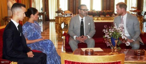 بحفل شاي ملكي اختتم الأمير هاري وزوجته زيارتهما للمغرب