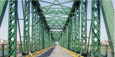 التحالف الدولي: إعادة تأهيل جسر نهر الكرمة في العراق