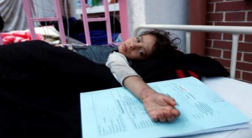 """الكوليرا تفترس """"المحويت"""".. احتلالٌ حوثي من نوع آخر (إحصائيات جديدة)"""
