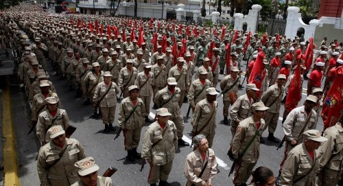 """""""رودريغيز"""" أمريكا تستعد لعملية عسكرية ضد فنزويلا"""