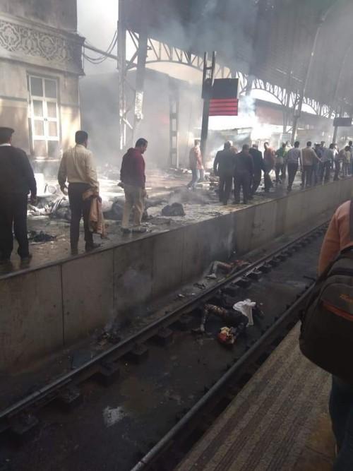 عاجل..سكة الحديد مصر: وصل 20 سيارة إسعاف.. و7 حالات وفيات حتى الان