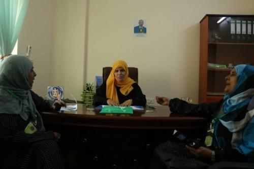 اتفاق بين دائرة المرأة بالانتقالي ومنظمة جنوبية على التعاون المشترك
