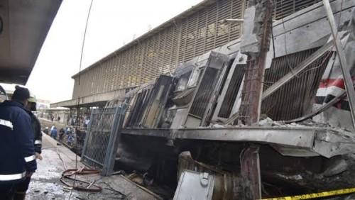 سياسي أحوازي ينعي ضحايا حادث قطار محطة مصر