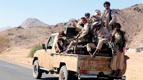 أحلام الإمامة الحوثية تتساقط في حجور (فيديو)