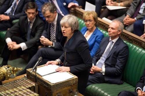 """البرلمان البريطاني يوافق على خطة """"ماي"""" المعدلة بشأن بريكست"""