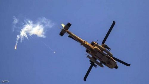 إسرائل تشن غارة جوية على وسط غزة