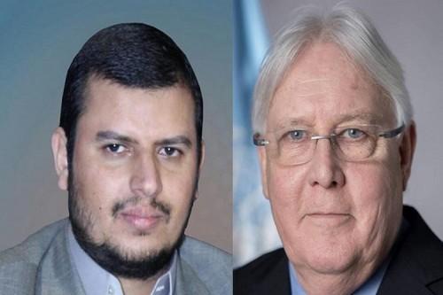 لماذا يرفض عبدالملك الحوثي لقاء مارتن غريفيث في صنعاء؟
