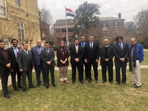 بعد زيارة وزير الثقافة.. السفارة اليمنية توجه الشكر إلى أمريكا