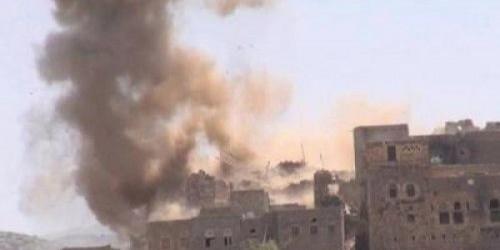 استمراراً لخرق الهدنة.. غارات للحوثي على مواقع للعمالقة في الفازة وحيس