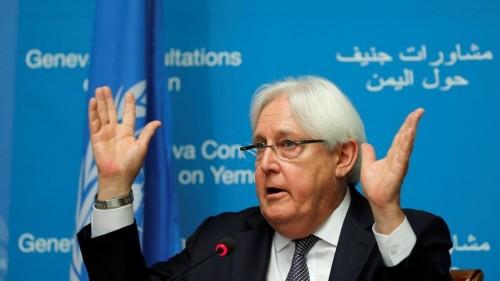 غريفيث يفشل في التفاوض مع الحوثيين.. هل تكون بداية الحسم العسكري؟