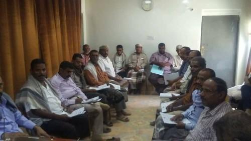 انعقاد الاجتماع الثاني للمكتب التنفيذي بمديرية القطن خلال 2019