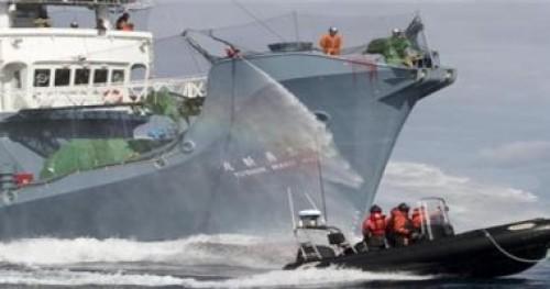 روسيا تطلق سراح طاقم سفينة  يابانية بعد احتجازهم شهرين