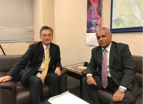 لقاء يمني ياباني لمناقشة آخر تطورات مفاوضات السلام