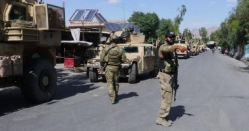 هجوم مسلح على قاعدة عسكرية في أفغانستان